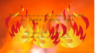Pentecost service from Bagshot Methodist Church