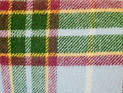 LAXEY MANX TARTAN | Wool Blanket owned by Jo Tait | www.teamhrach.com