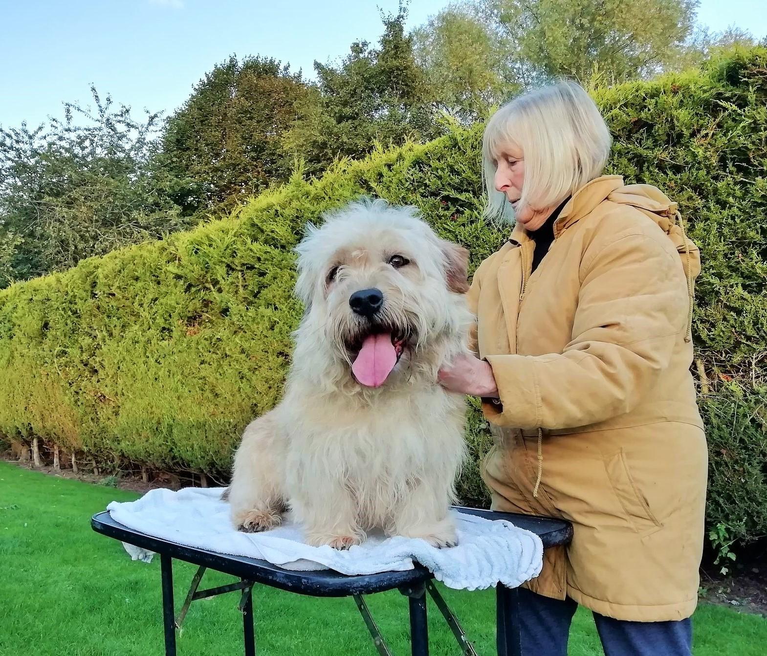 BERTIE with Kathy George