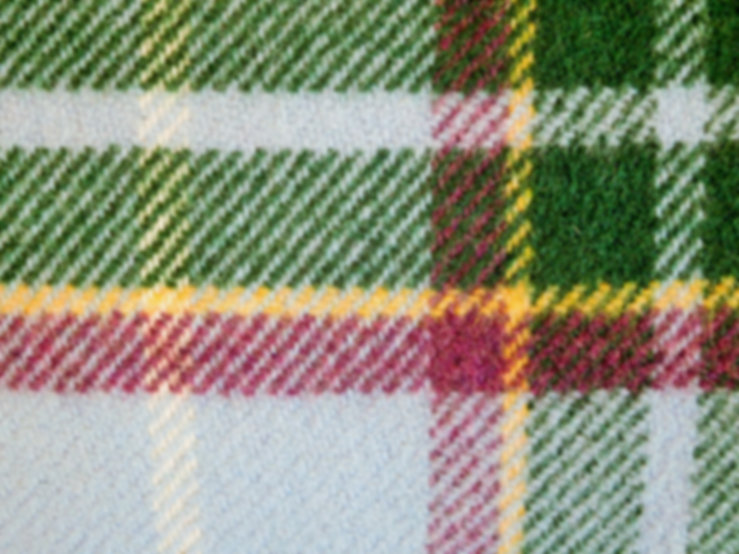 LAXEY MANX TARTAN | Wool Blanket owned by Jo Tait | www.teamhrach.com