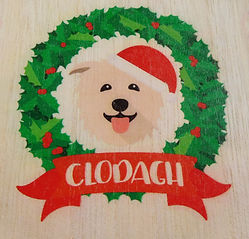 Clodagh 🎅 Wooden Advent Calendar Yappy.com 🐾 www.teamhrach.com