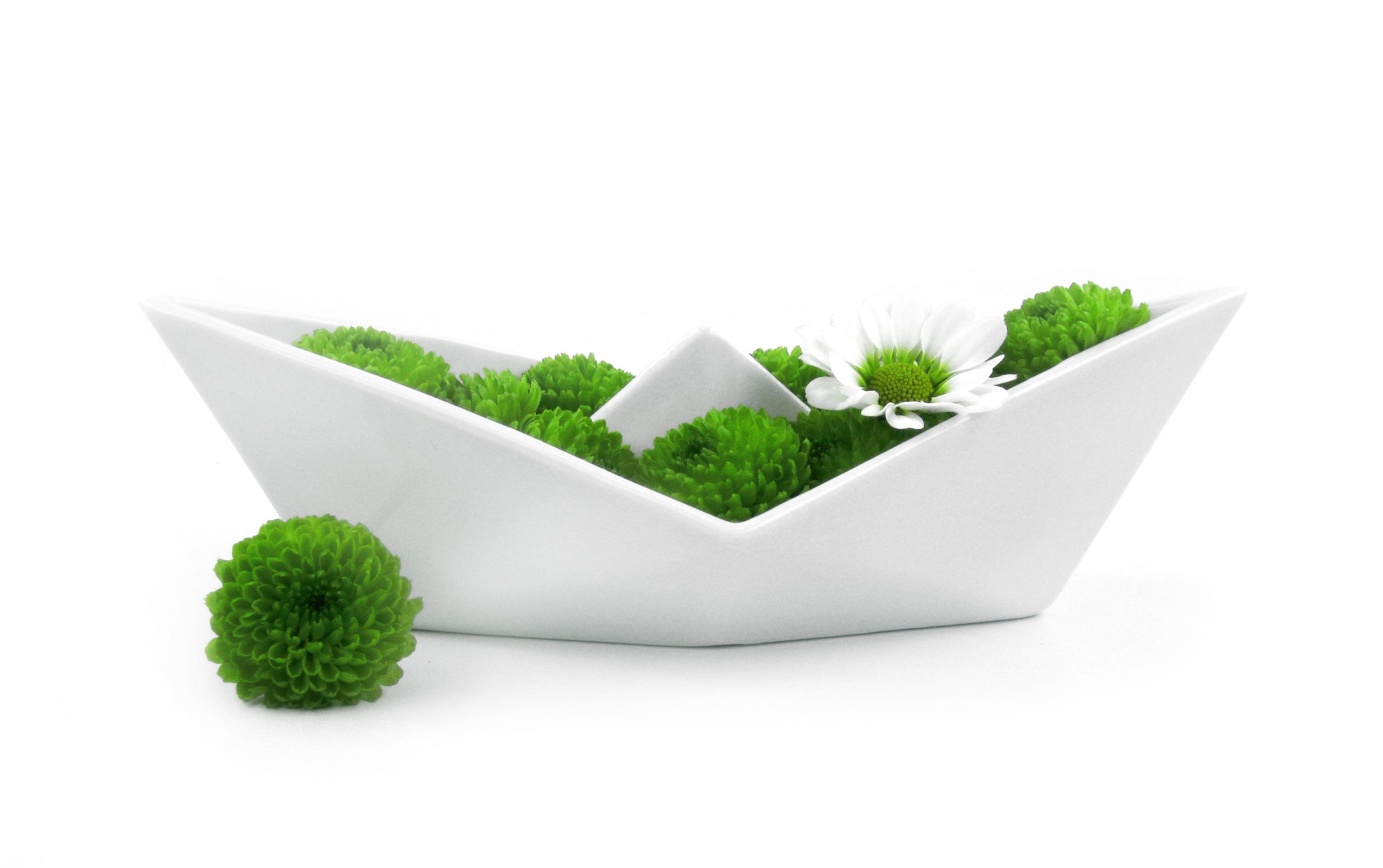ALIZI.PORCELAIN origami paper boat