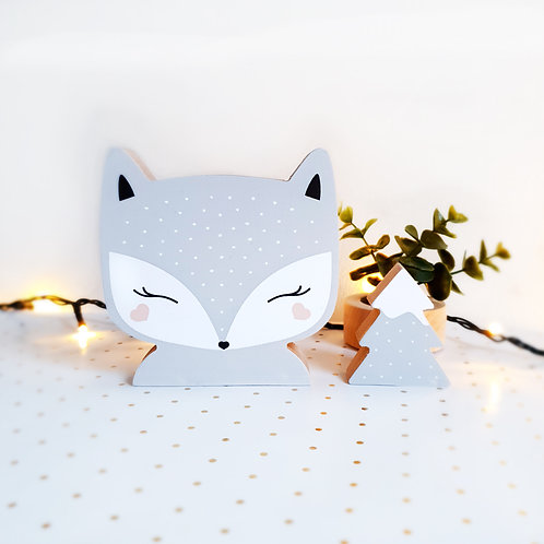 FOX + TREE (grey / grey)