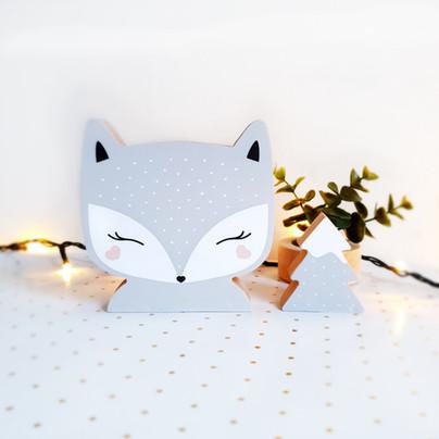 FOX - grey