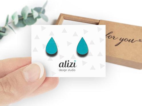 Earrings - Drops -Turquoise