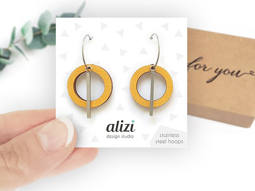 Hoops - Small Rings - Yellow