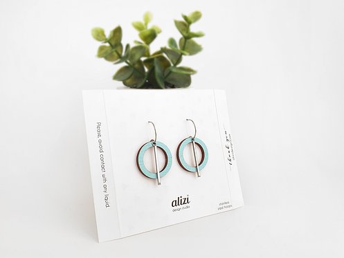 Hoops - Large Rings - Mint