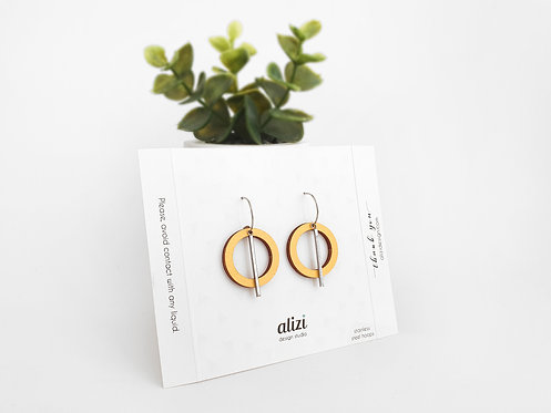 Hoops - Large Rings - Yellow