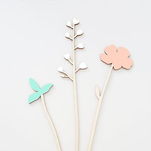 ALIZI.SPRING - wooden flowers n.1