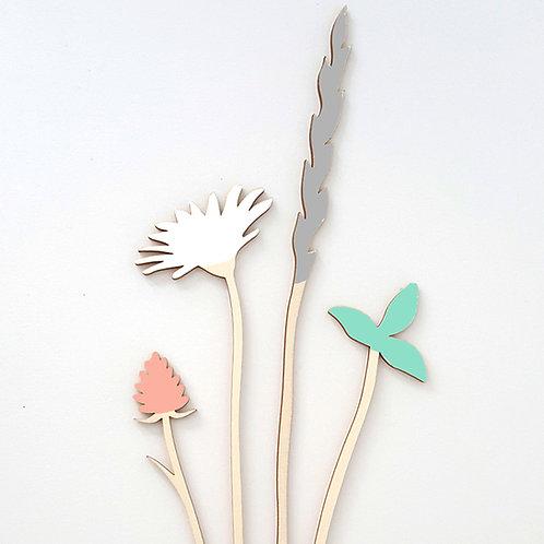 ALIZI.SPRING - wooden flowers n.4