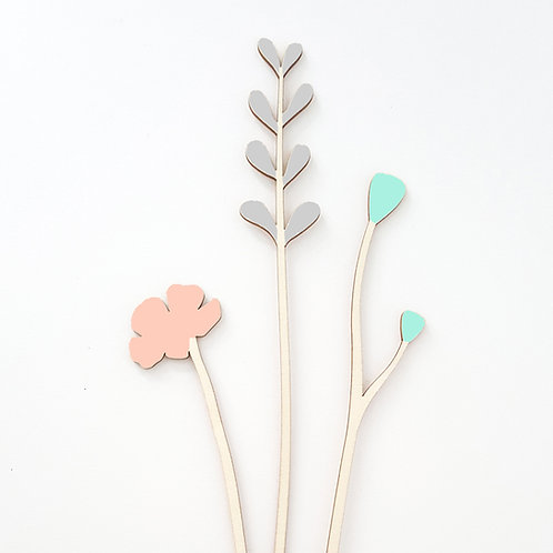 ALIZI.SPRING - wooden flowers n.2