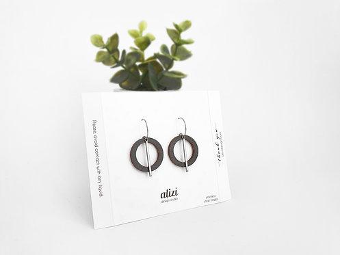 Hoops - Large Rings - Black