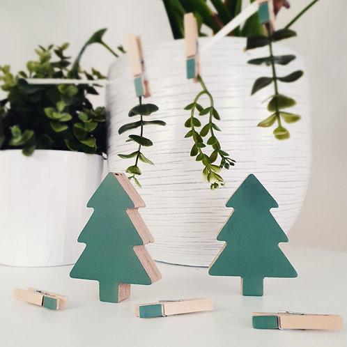 WALL GALLERY - TREE + TREE (green)