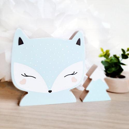 FOX + TREE (mint / mint)