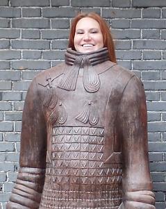 Kat Silvia in Xian China