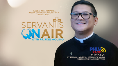 """Servants On Air with Fr. Joel Aquino"" launched March 9."