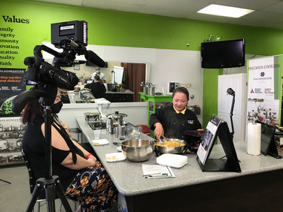 NEW: Precious Cooking every Thursday at 12nn (Pacific)