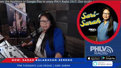 New Program: Sari-Sarah with Sarah Balabagan-Sereno