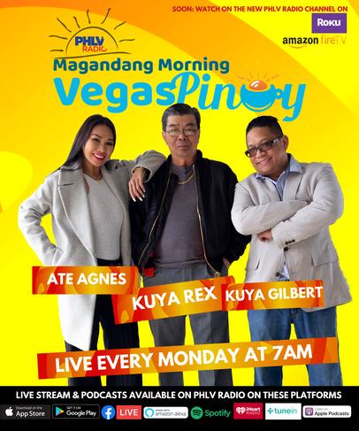 """Magandang Morning Vegas Pinoy"" has launched!"