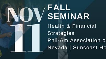 Health & Financial Strategies Seminar