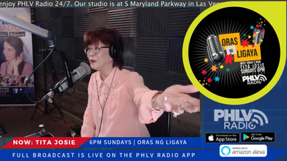 "JoKoy's beloved Mom, Tita Josie, relaunches ""Oras ng Ligaya"" radio show"