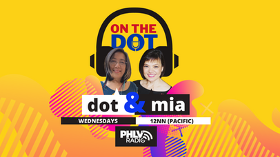 On the Dot at 12nn...it's Dot and Mia