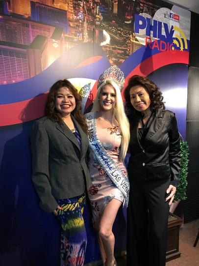 Miss Fabulous Las Vegas is in the house!
