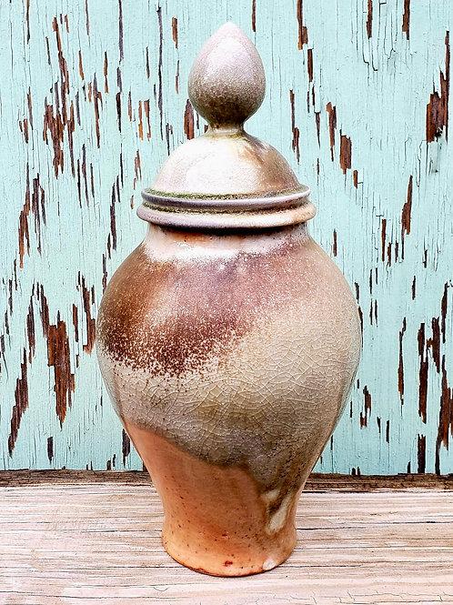 Wood fired urn