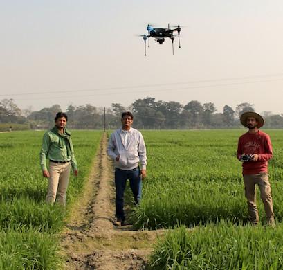 Στην Ινδία στρέφονται στα drones για τον εκσυγχρονισμό της γεωργίας