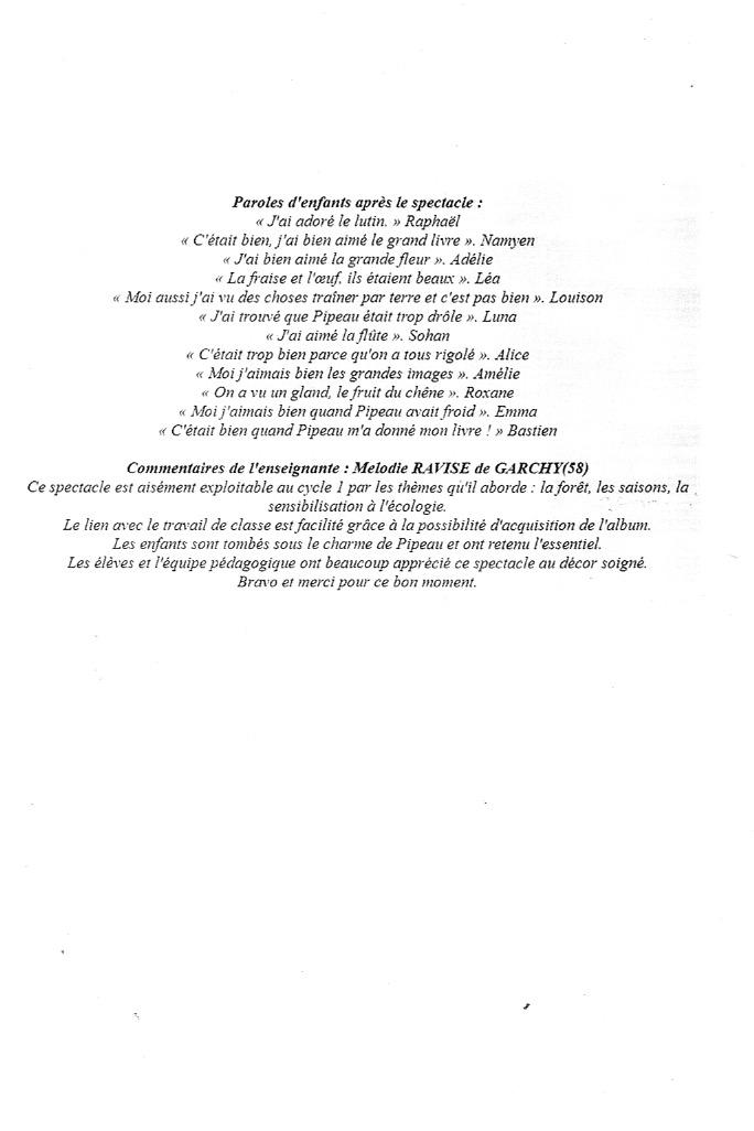 004 Avis Pipeau