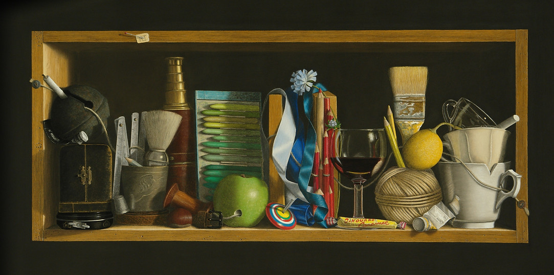 Dominique Houard : trompe-l'oeil et rébus dans les artistes que j'aime 2aea55_3b4be376d24e4ddca68b5aa36dc48f89