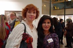Avec Rosmery Mamani