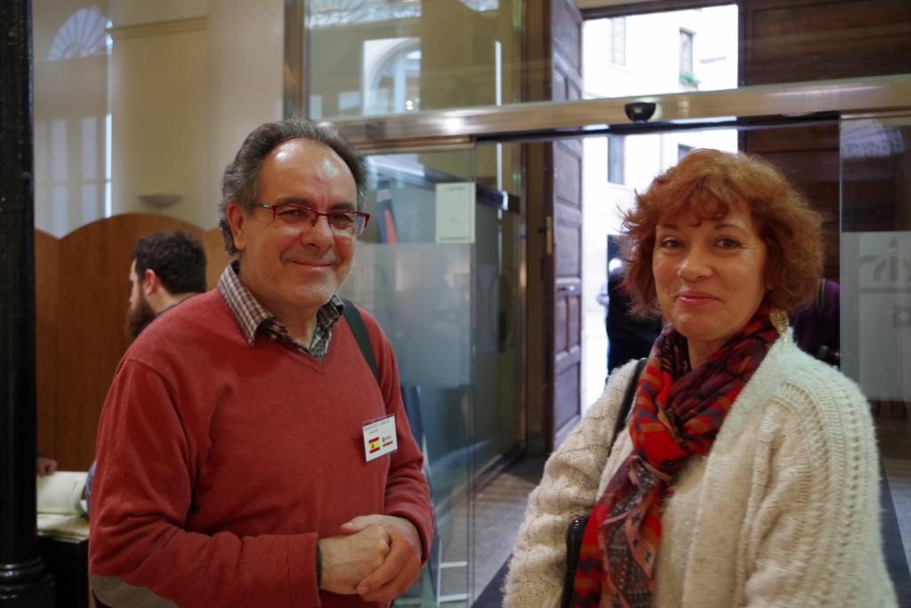 Avec Aurelio Rodriguez
