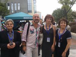 Avec Jerzy, Romero et Violette