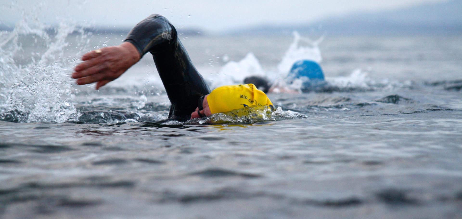 Wild swimmers, Sound of Jura