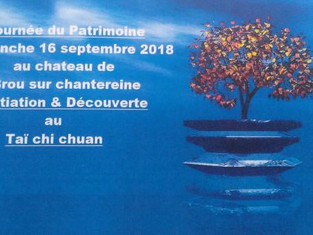 Venez découvrir le taï chi chuan, ce dimanche 16 septembre !