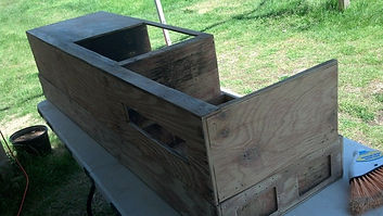 Sanded Down Coffin