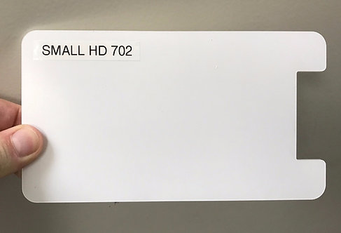 Small HD 702 custom screen protector