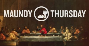 Thoughts on Maundy Thursday