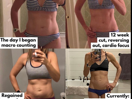 Changes in physique once I prioritized strength training over cardio