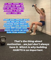 Habits don't build themselves.