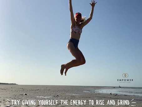 Try Giving Yourself the Energy to Rise & Grind