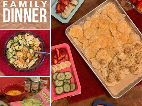 QUICK Family Dinner - incorporating meal prep with hangry kids!