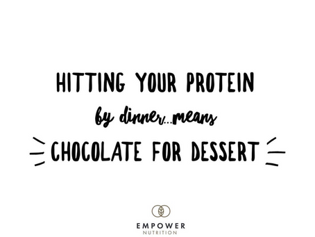Is protein something you need help with? I have TONS of recipes that make it easy to hit!