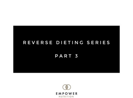 Who is a reverse diet NOT best-suited for?⠀