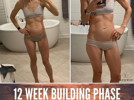 Results from 12 Weeks of Building - Mental & Physical