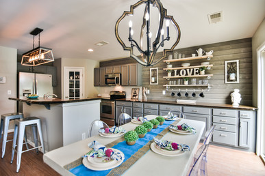 Reimagined Kitchen and Dining