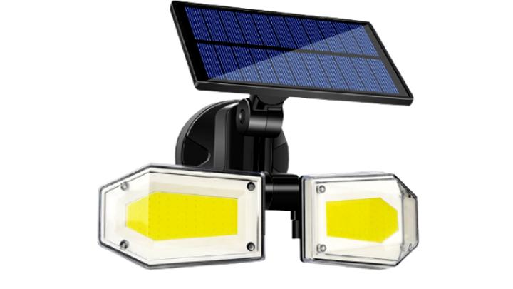 130 COB Solar Wall Light