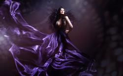 Lady May Dollhouse photo shoot