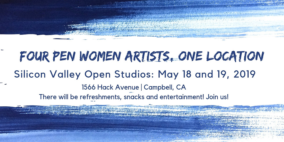 Silicon Valley Open Studio: Four Pen Women Artists, One Location